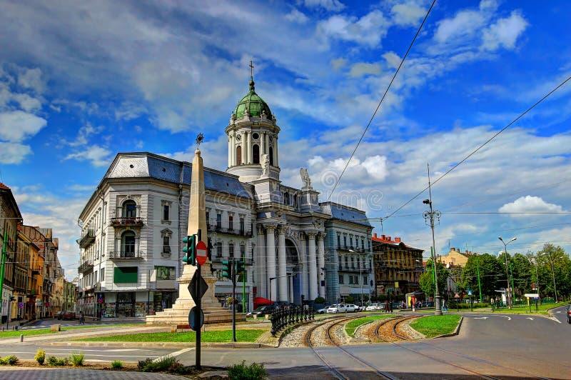 Arad Rumänien arad rumänien stockbild bild kreuz cityscape blau 40408063