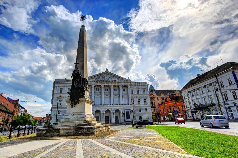 Arad Rumänien royaltyfri bild