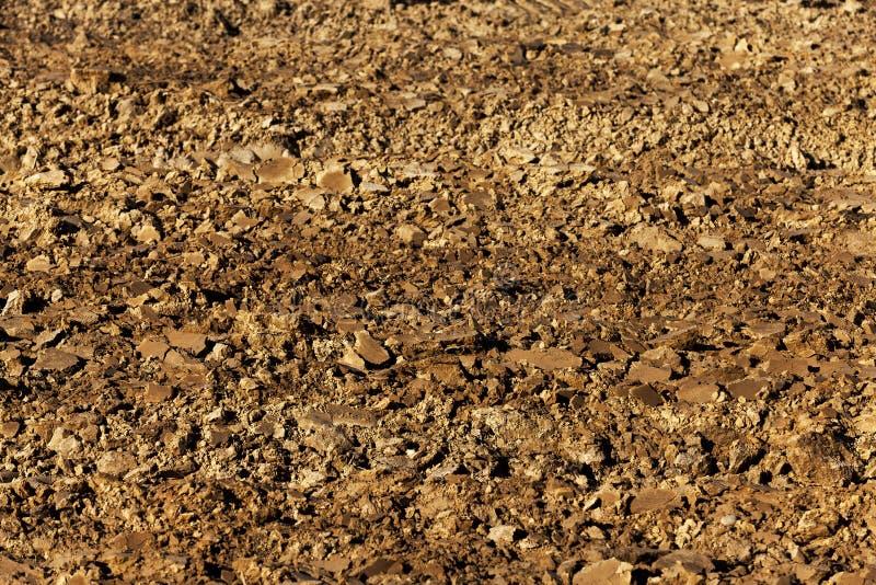 Arado para la tierra de la cosecha foto de archivo