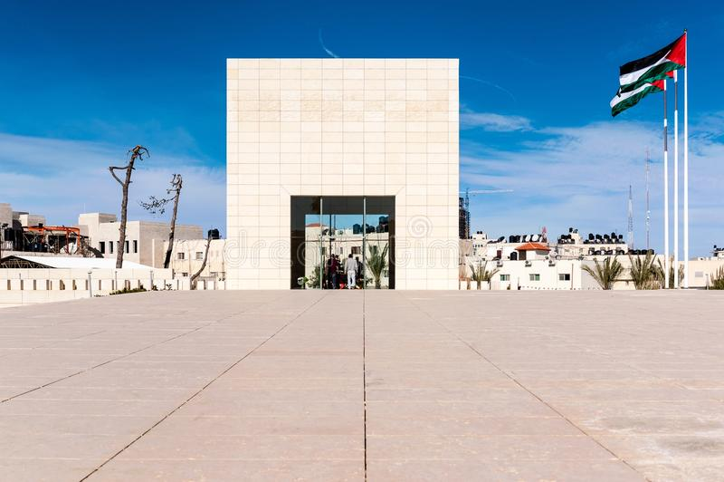 Arafat mausoleum royaltyfria bilder