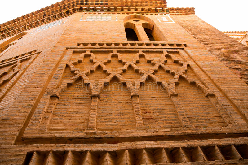 Aragon Teruel Los Amantes mausoleum in San Pedro Mudejar. Church Spain royalty free stock photos