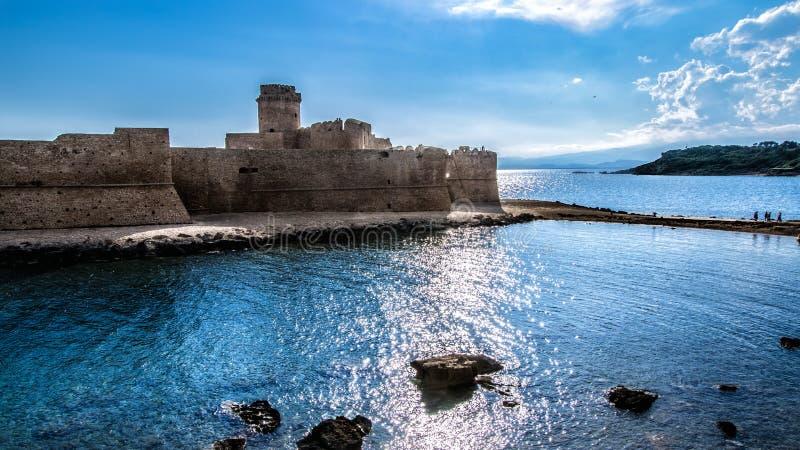 aragonese κάστρο στοκ φωτογραφία με δικαίωμα ελεύθερης χρήσης