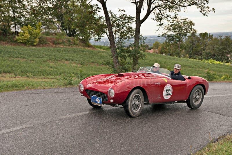 Araignée 1953 de Ferrari 375 millimètre Pininfarina photographie stock