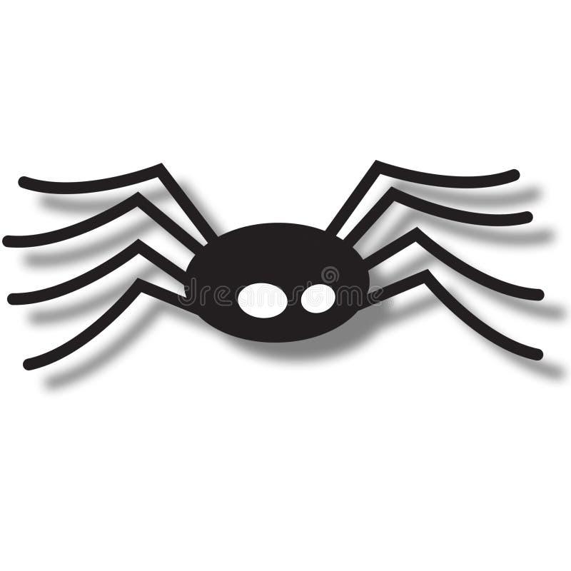 araignée de graphisme illustration libre de droits