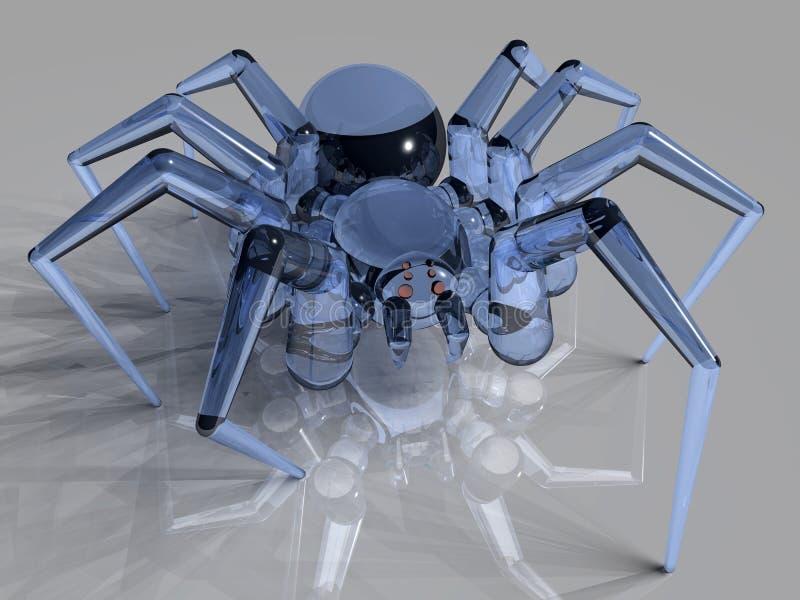 Araignée en verre photographie stock