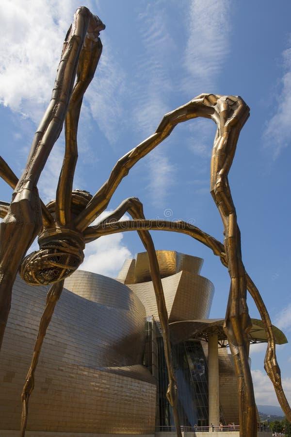 Araignée - Guggenheim - Bilbao - Espagne images libres de droits