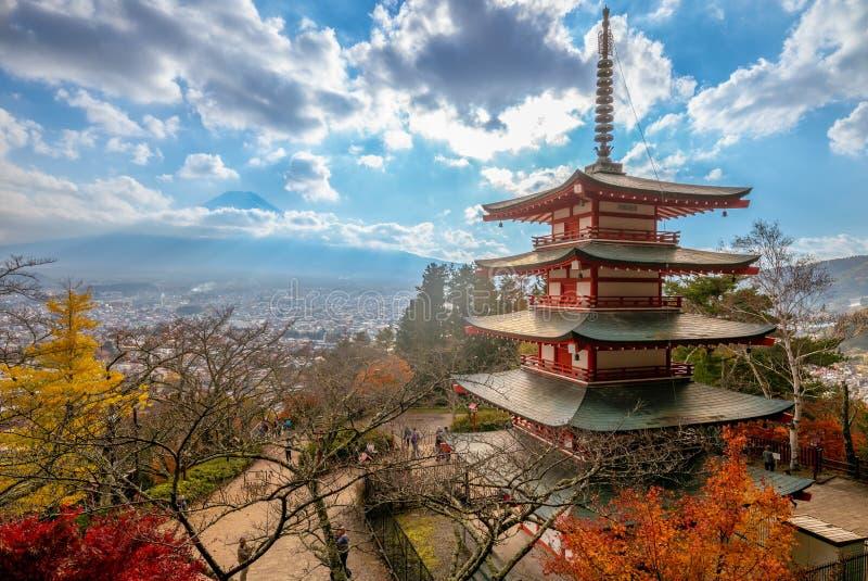 Arakura山Arakurayama Sengen公园,日本 免版税库存图片