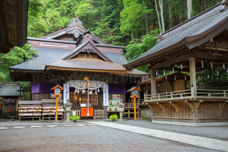 Arakura Fuji Sengen-jinja Shrine Japão fotografia de stock