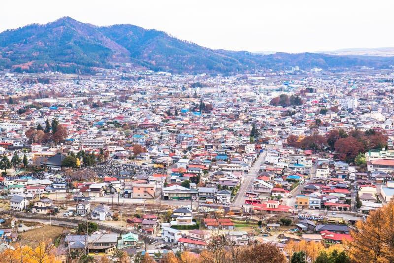 Arakurayama sengen公园 免版税库存图片