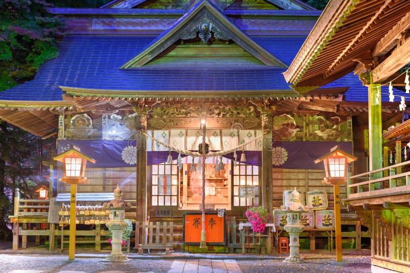 Arakurayama Sengen寺庙 免版税图库摄影