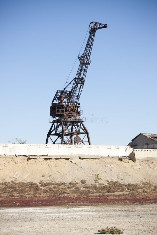 Aral hav - kazakhstan royaltyfri fotografi