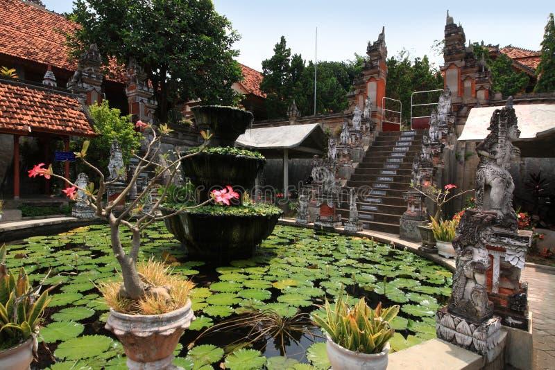 Arama Brahmavihara μοναστήρι, νησί του Μπαλί (Ινδονησία) στοκ εικόνες με δικαίωμα ελεύθερης χρήσης