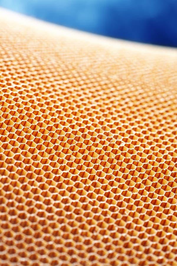 Aramid kevlar honeycomb stock image
