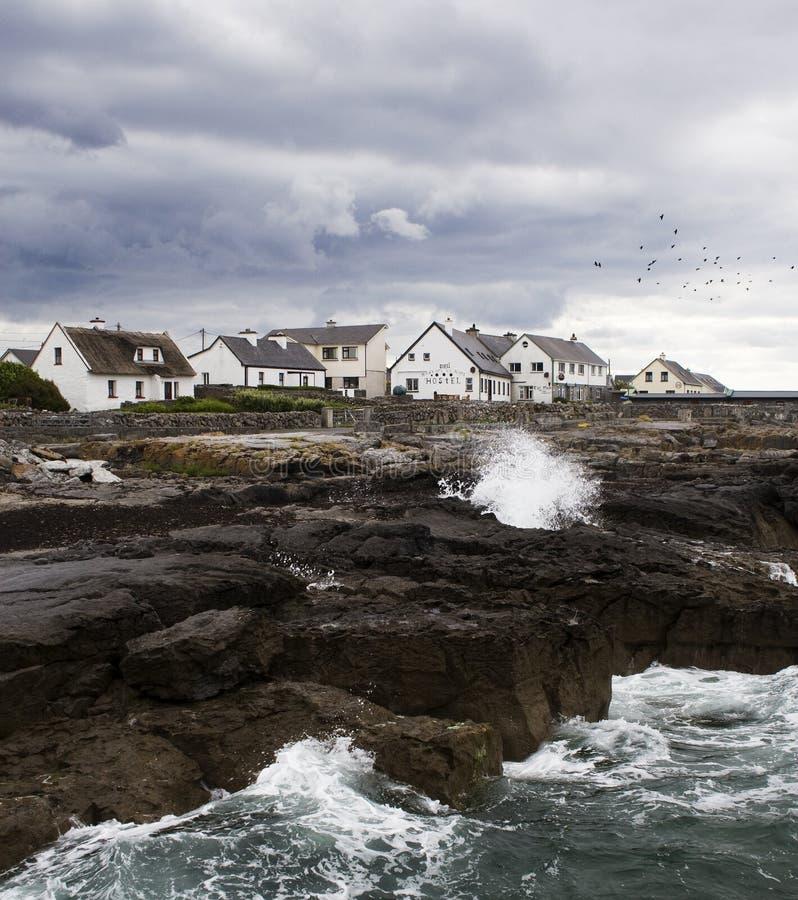Aran island. Coastside of Aran Island in Ireland royalty free stock photo