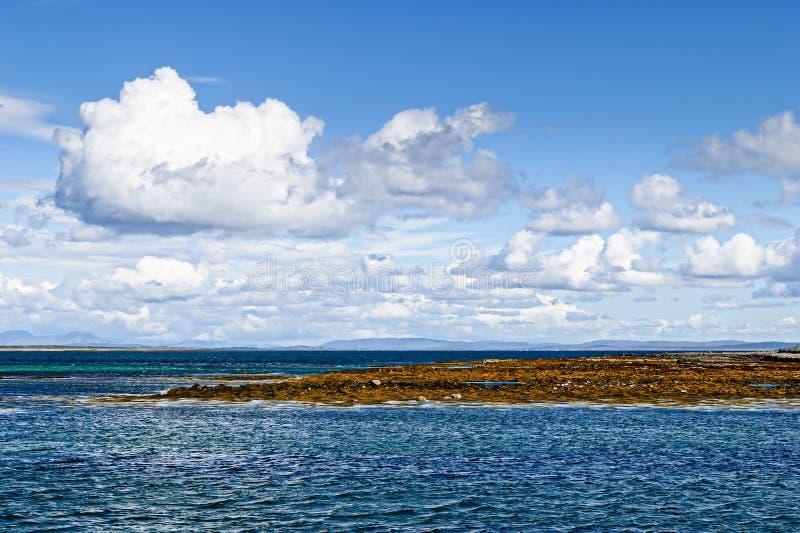 Aran Island, Ireland. Beautiful seascape at the Aran Island, Ireland royalty free stock images