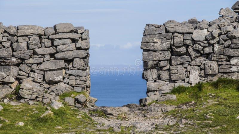 Aran Islands - Inishmore imagens de stock