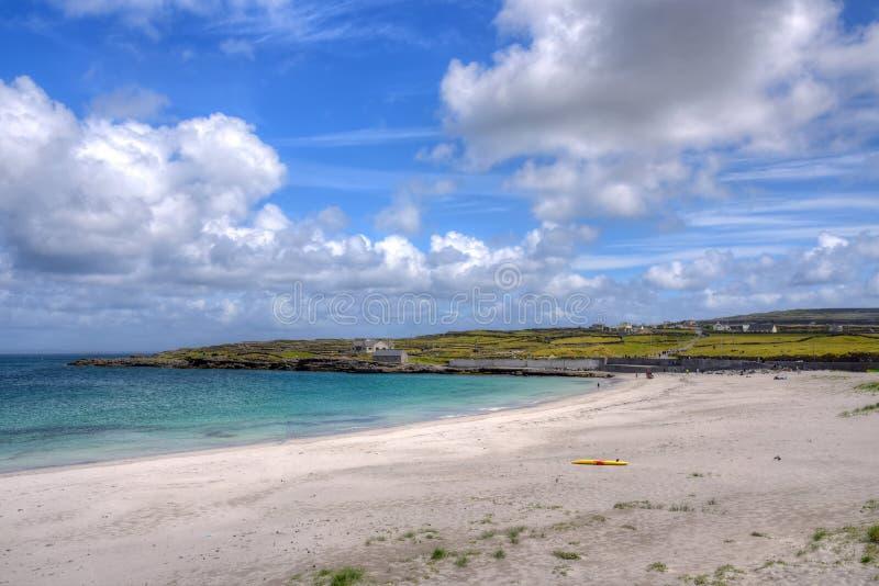 Aran Islands, Ireland. Inishmore on the Aran Islands, Ireland royalty free stock images