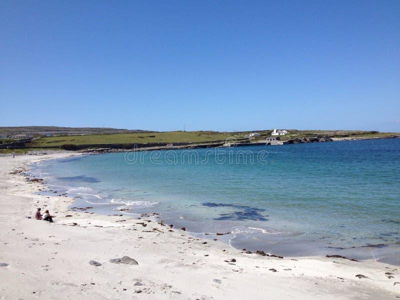 Aran Islands. Walking around Aran Islands in Ireland stock image