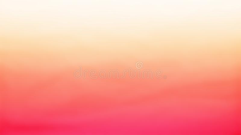 Arancia con struttura fresca gialla fatta da struttura delle bolle e dallo strato supplementare con colore arancio illustrazione di stock