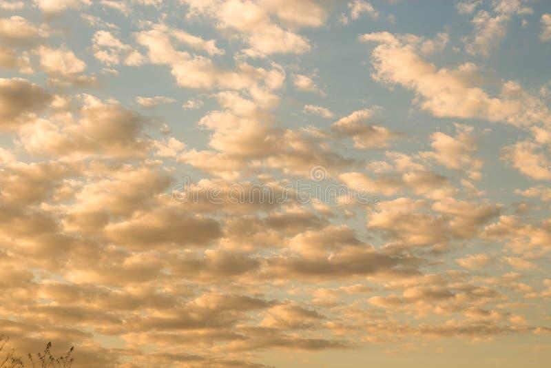 Arancia del cielo immagine stock libera da diritti