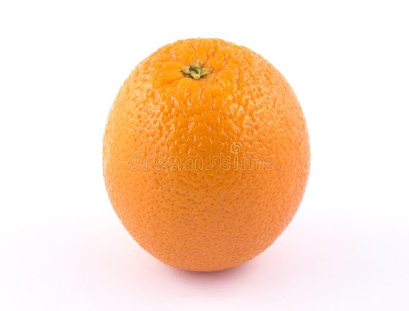 Arancia succosa rotonda fotografia stock