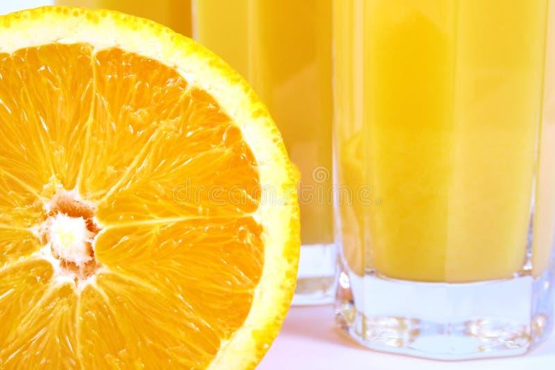Arancio della spremuta immagini stock