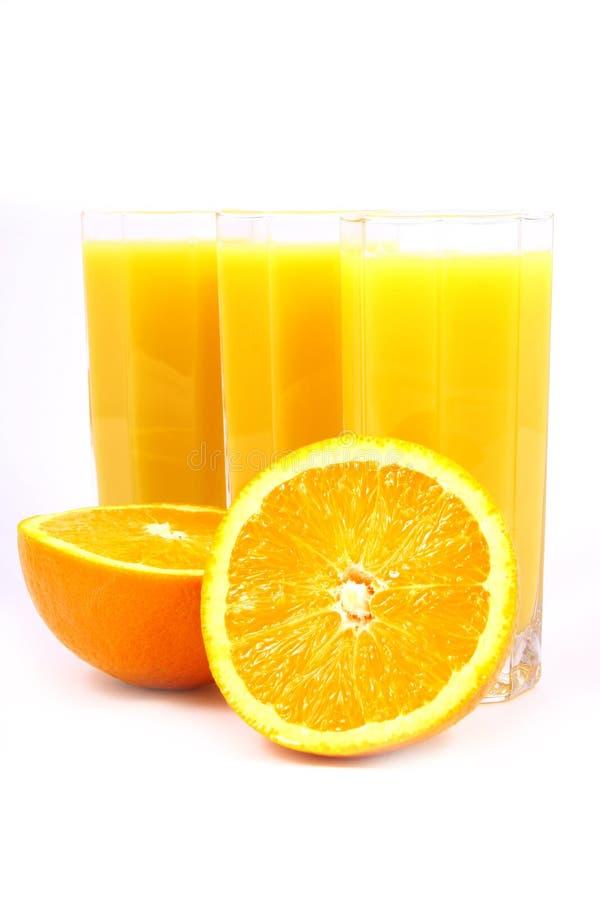 Arancio della spremuta fotografia stock libera da diritti