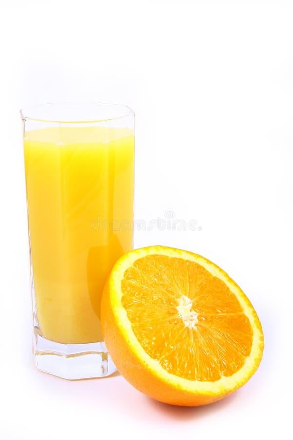 Arancio della spremuta fotografia stock