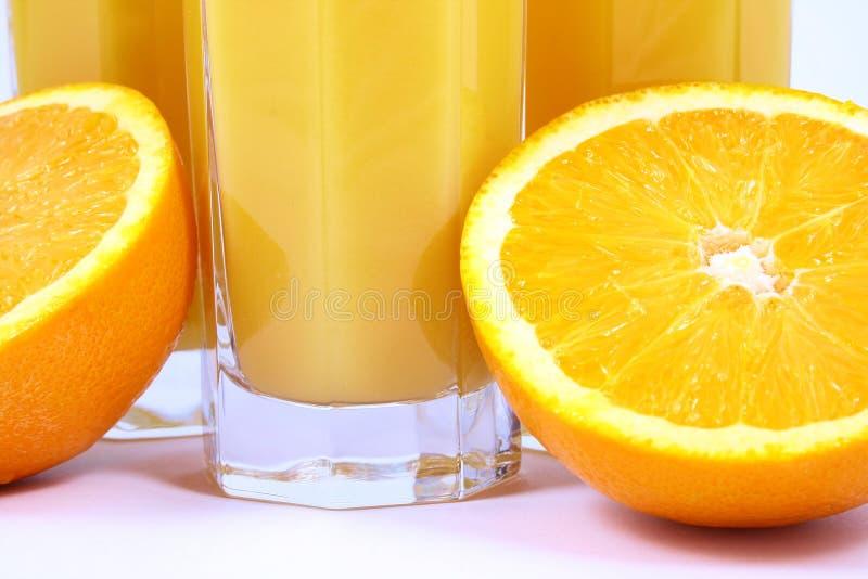 Arancio della spremuta fotografie stock