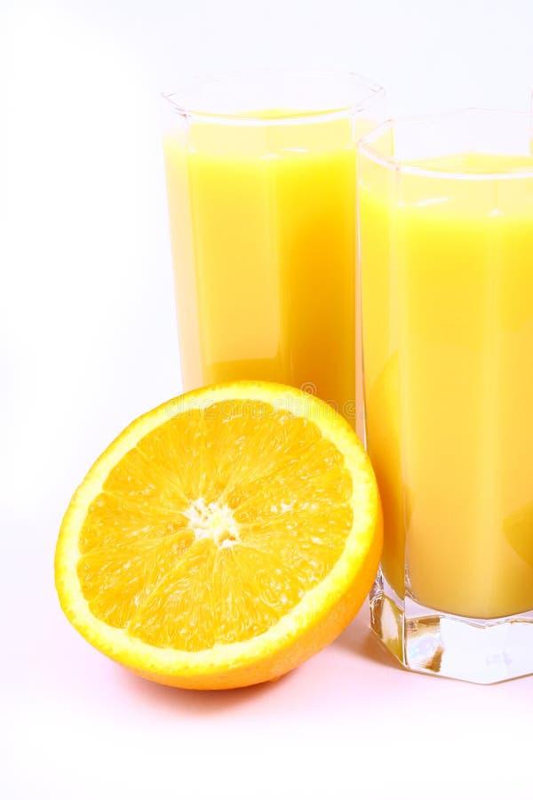 Arancio della spremuta immagine stock