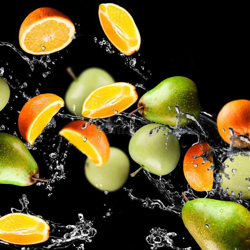 Arancio e mele immagine stock libera da diritti