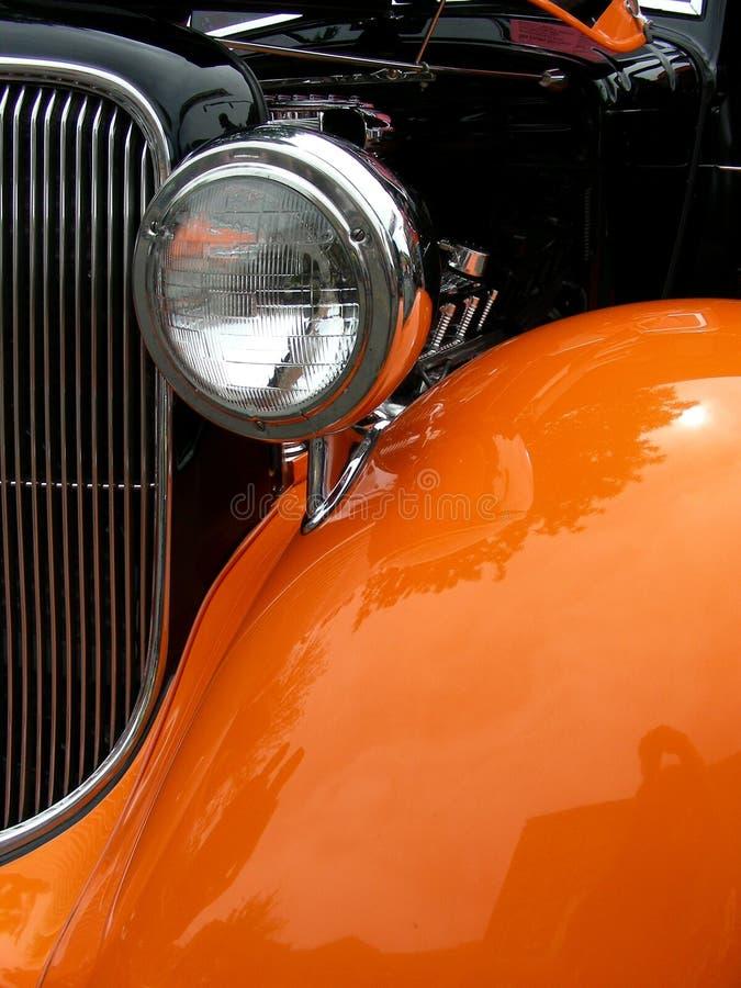 Arancio ed il nero fotografia stock libera da diritti