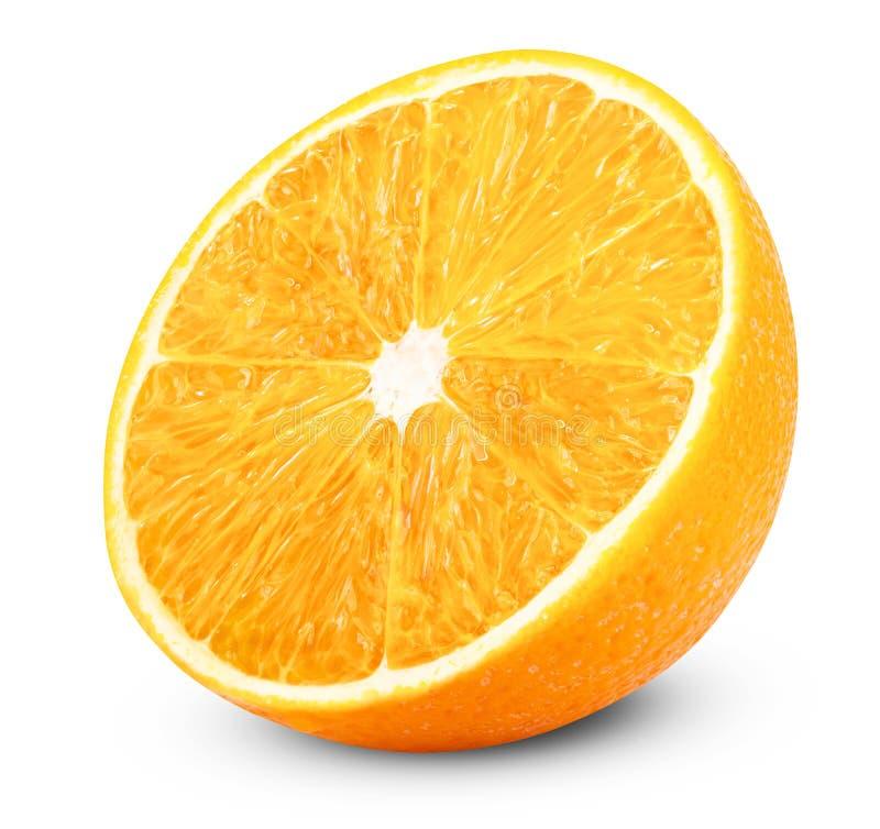 Arancio fresco maturo fotografia stock