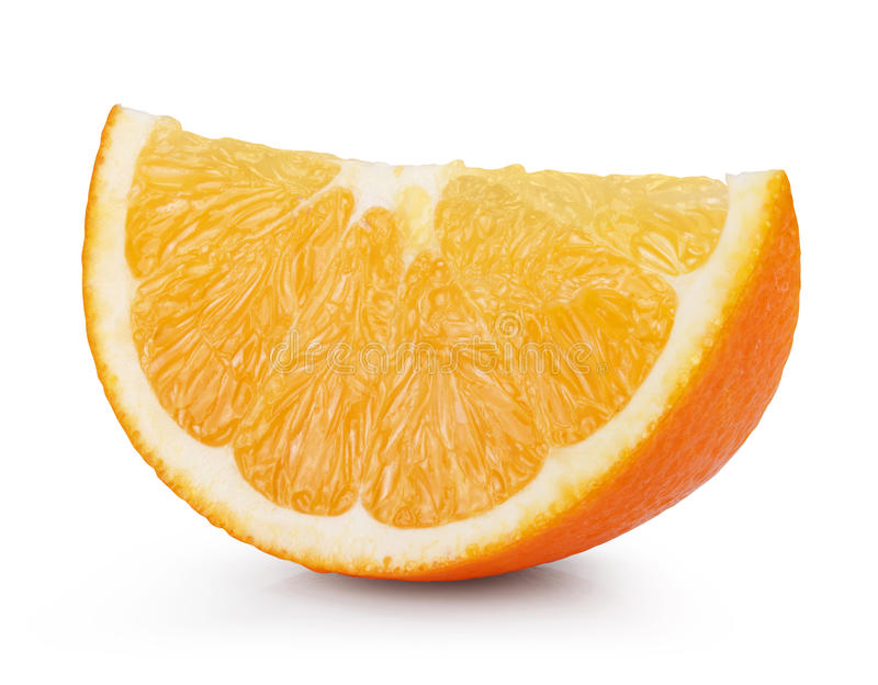 Arancio fresco maturo immagini stock