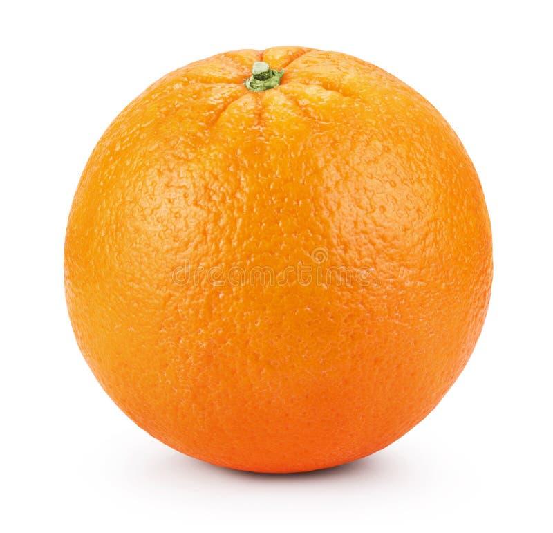 Arancio fresco maturo fotografia stock libera da diritti