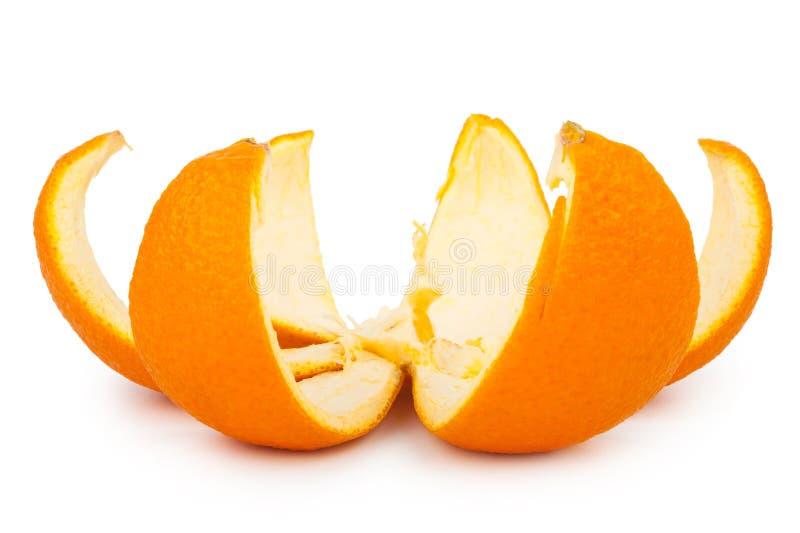 Arancio - macro fotografie stock libere da diritti