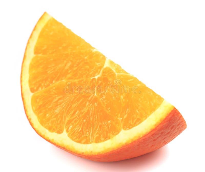 Arancione e fette fresche fotografia stock