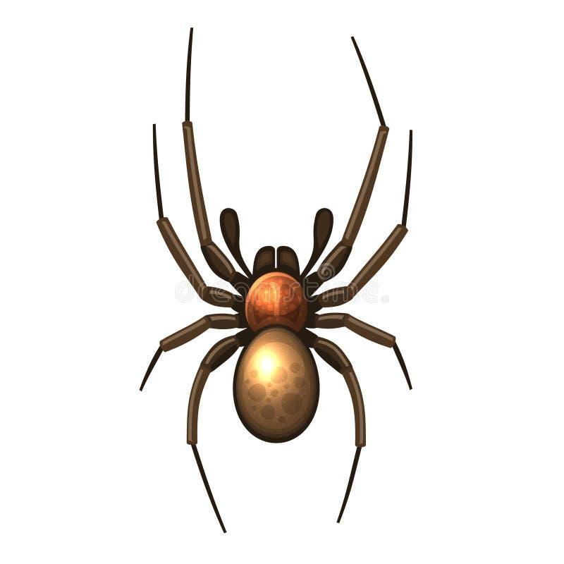 Aranha ilustração stock