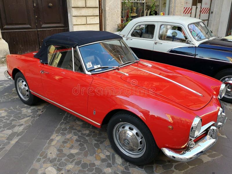 Aranha de Alfa Romeo Giulietta imagens de stock royalty free