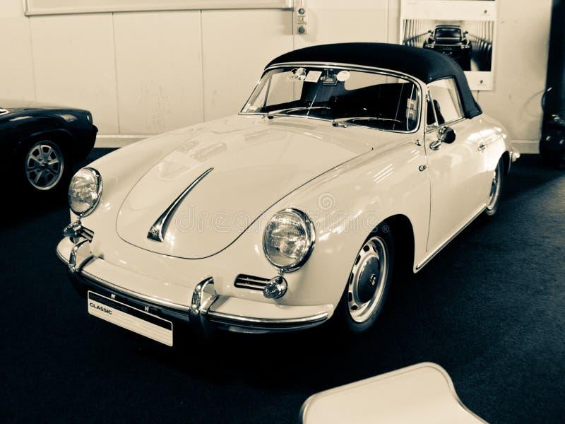 Aranha de Porsche 356 em Milão Autoclassica 2016 imagens de stock royalty free