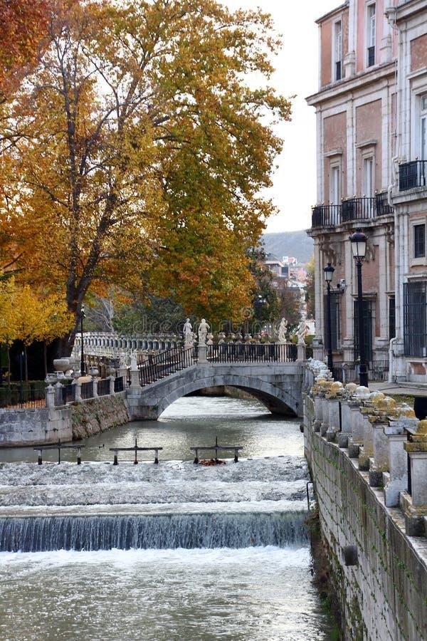 aranjuez pałac fasadowy główny Madrid Spain zdjęcia stock