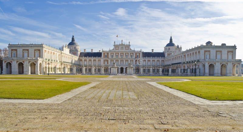 aranjuez pałac królewski Spain fotografia royalty free
