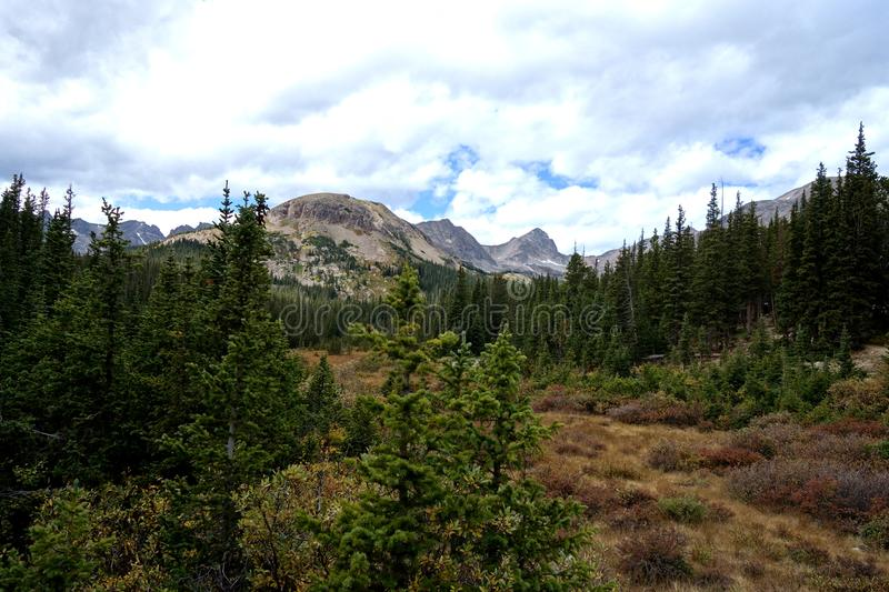 Arapaho et Roosevelt National Forests High Peaks photographie stock