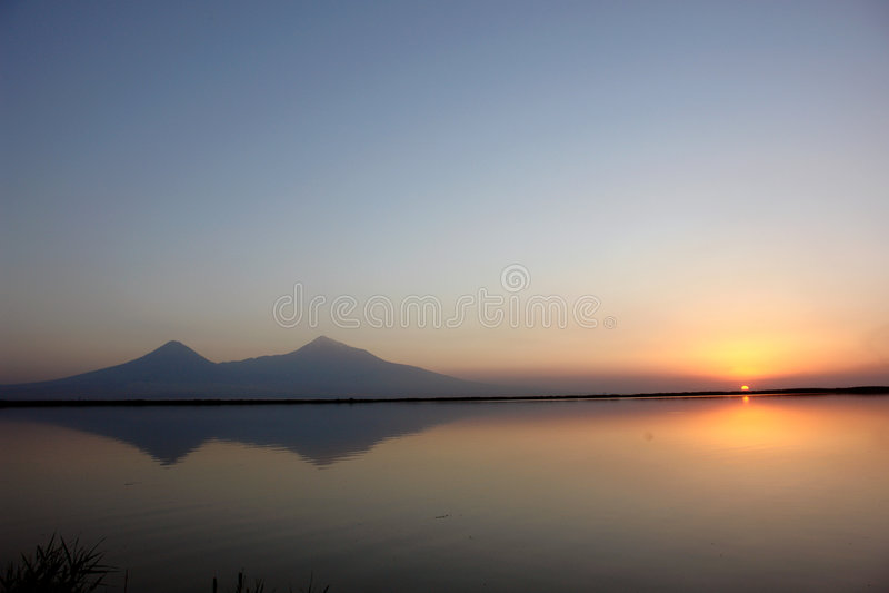 Ararat fotografia stock libera da diritti