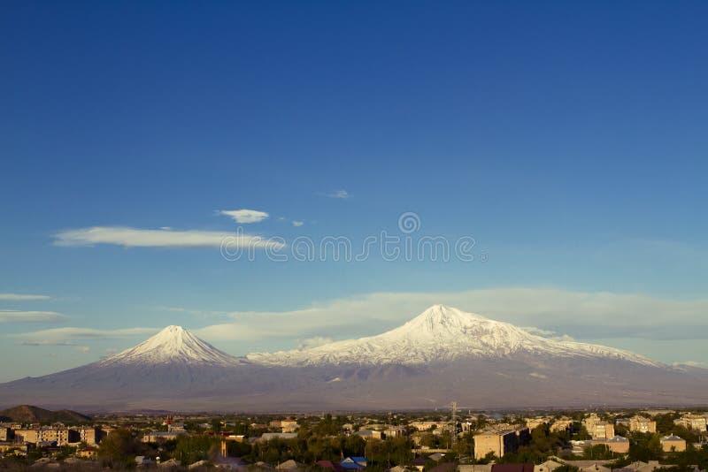 Ararat mounatain obrazy stock