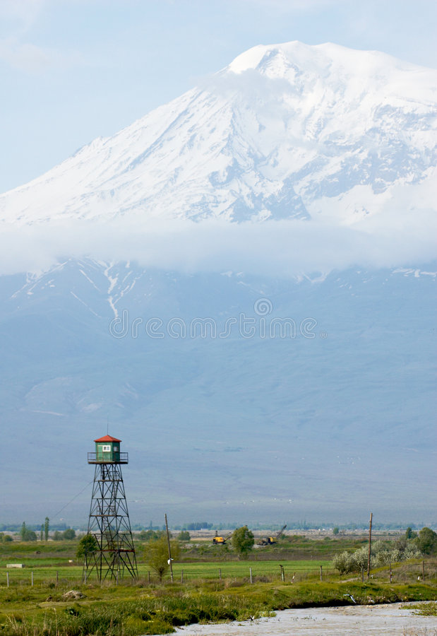 Ararat mountain.