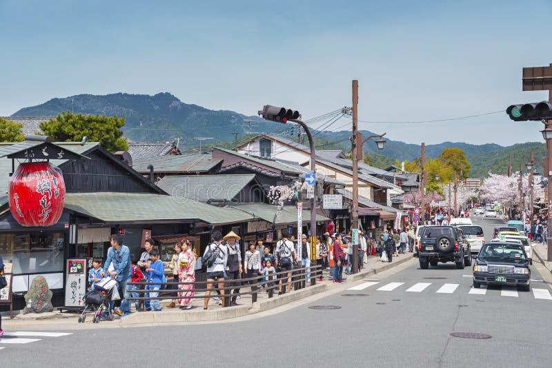 Arashiyama,京都,日本 免版税库存图片
