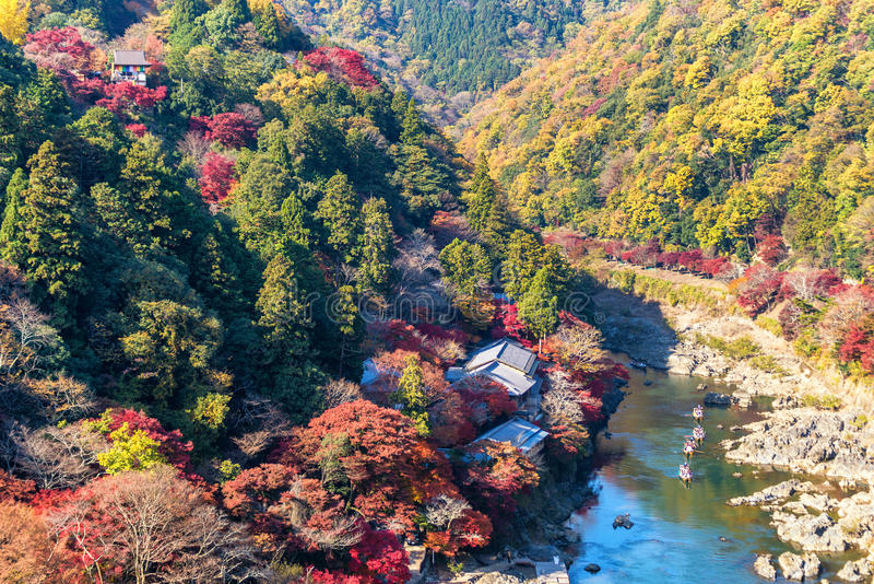 Arashiyama photo libre de droits
