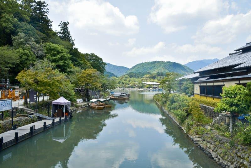 Arashiyama arkivfoton