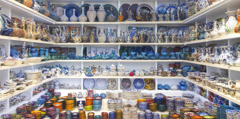 Arasta bazaar, Κωνσταντινούπολη στοκ εικόνα